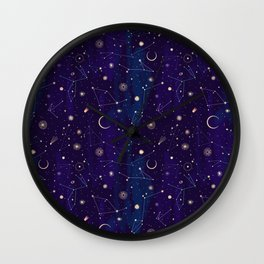Night of a Thousand Moons Wall Clock