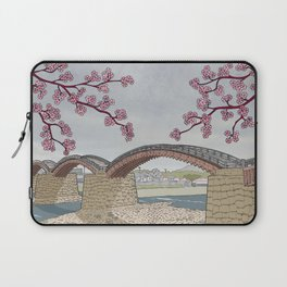 Kintaikyo bridge Laptop Sleeve