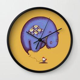 Globophobia Wall Clock