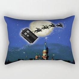 TARDIS: Santa Needs a Helper Rectangular Pillow