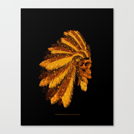 FIRST AMERICAN-006 Canvas Print
