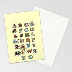 The Disney Alphabet Stationery Cards