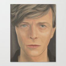 Bowie Portrait - Fan Art Canvas Print