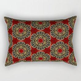 Beautiful Beadwork Inspired Print Rectangular Pillow