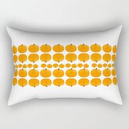 Pumpkin Pattern | Rustic Rectangular Pillow