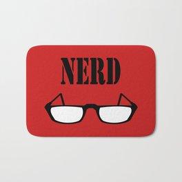 Nerd Glasses Bath Mat