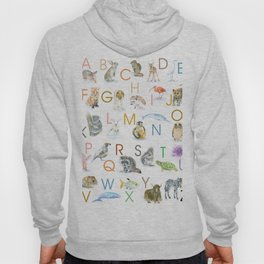 Animal Alphabet ABCs Hoody