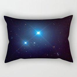 Mizar and Alcor Rectangular Pillow