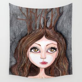 Forest Druid Wall Tapestry