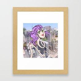Rokurokubi Framed Art Print