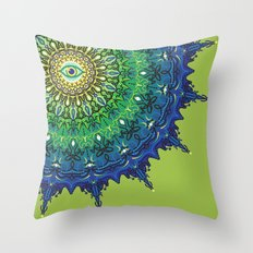 Eye of the Earth Throw Pillow