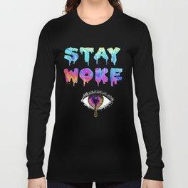 Stay Woke Pastel Long Sleeve T-shirt