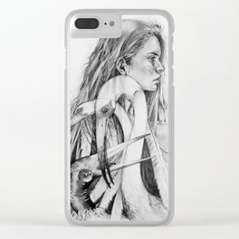 Entropy Clear iPhone Case