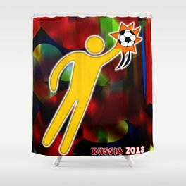 GoalKeeper Shower Curtain
