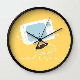 Smile n' Wave Wall Clock