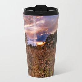 Marsh Sunset Travel Mug