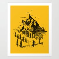 home sweet home Art Prints featuring Home! Sweet Home! by nicebleed