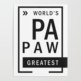Best Papaw Greatest Poster