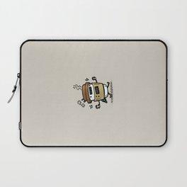 Latte Bot Laptop Sleeve