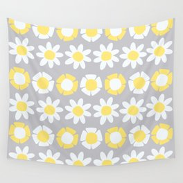 Peggy Yellow Wall Tapestry