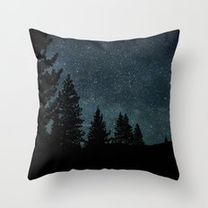 Two Worlds Throw Pillow