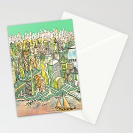 Globalization 3.0 Stationery Cards