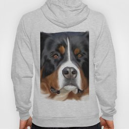 BERNESE MOUNTAIN DOG ART Hoody