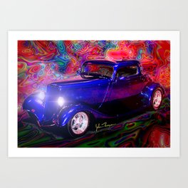 32 Ford Hotrod Art Print
