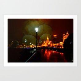 Shanghai 三 Art Print