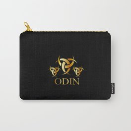 symbol of the horns of Odin, a satanist symbol Carry-All Pouch