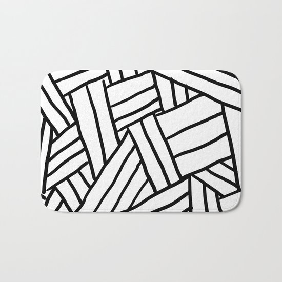 Raw Pattern Series: n.1 Bath Mat
