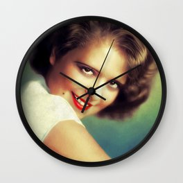 Clara Bow, Hollywood Legend Wall Clock