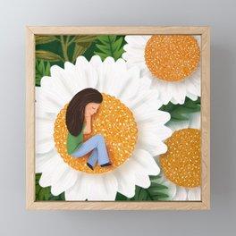 Naps are the best Framed Mini Art Print