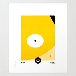 PKMNNL #054 PSYDUCK Art Print