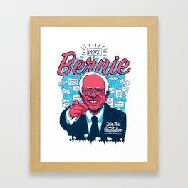 Bernie Sanders Revolution Framed Art Print