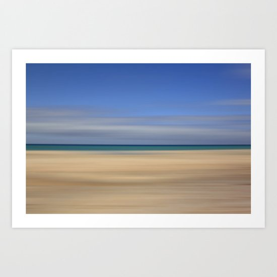 summer beach II Art Print