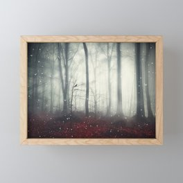 Spaces VII - Dreaming Woodland Framed Mini Art Print