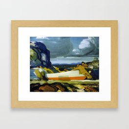 bellows-george-wesley-the-big-dory-1913 Framed Art Print