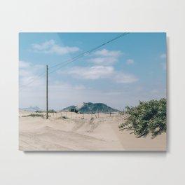 Over the Dunes Metal Print