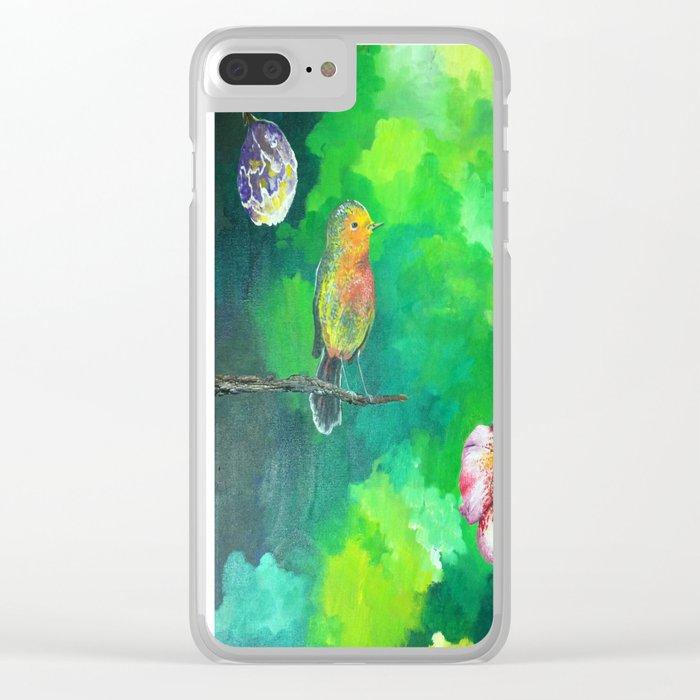 Birdy Dreams Clear iPhone Case
