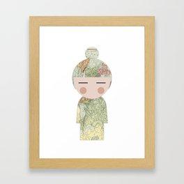 japan animation (travel) Framed Art Print
