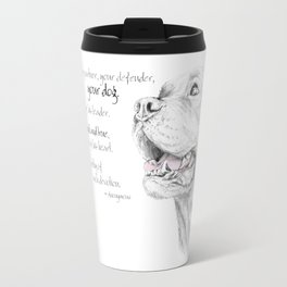 Murphy :: Loyalty [with Quote] Travel Mug