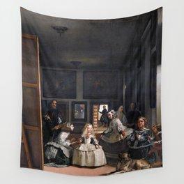 Diego Velazquez, Las Meninas, 1656 Masterpiece, Wall Art, Prints, Posters, Tshirts, Men, Women, Kids Wall Tapestry