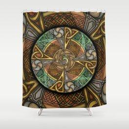Celic Apeatue Mandala Shower Curtain
