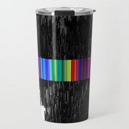 Colorful bar code Travel Mug