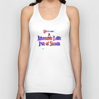 castlevania Tank Tops featuring Castlevania III - Miserable Pile of Secrets by Aaron Campbell