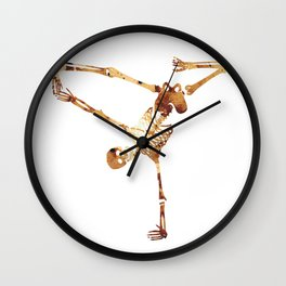Break dance Wall Clock