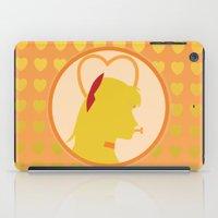 sailor venus iPad Cases featuring Sailor Venus by Valerie C. Salmon