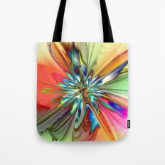 Splendid Fractal Flower 4 Tote Bag
