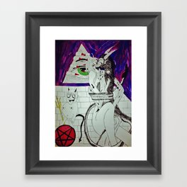 Demon Works Framed Art Print